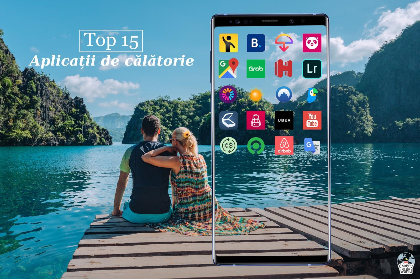 Top 15 aplicații folosite atunci când călătorim