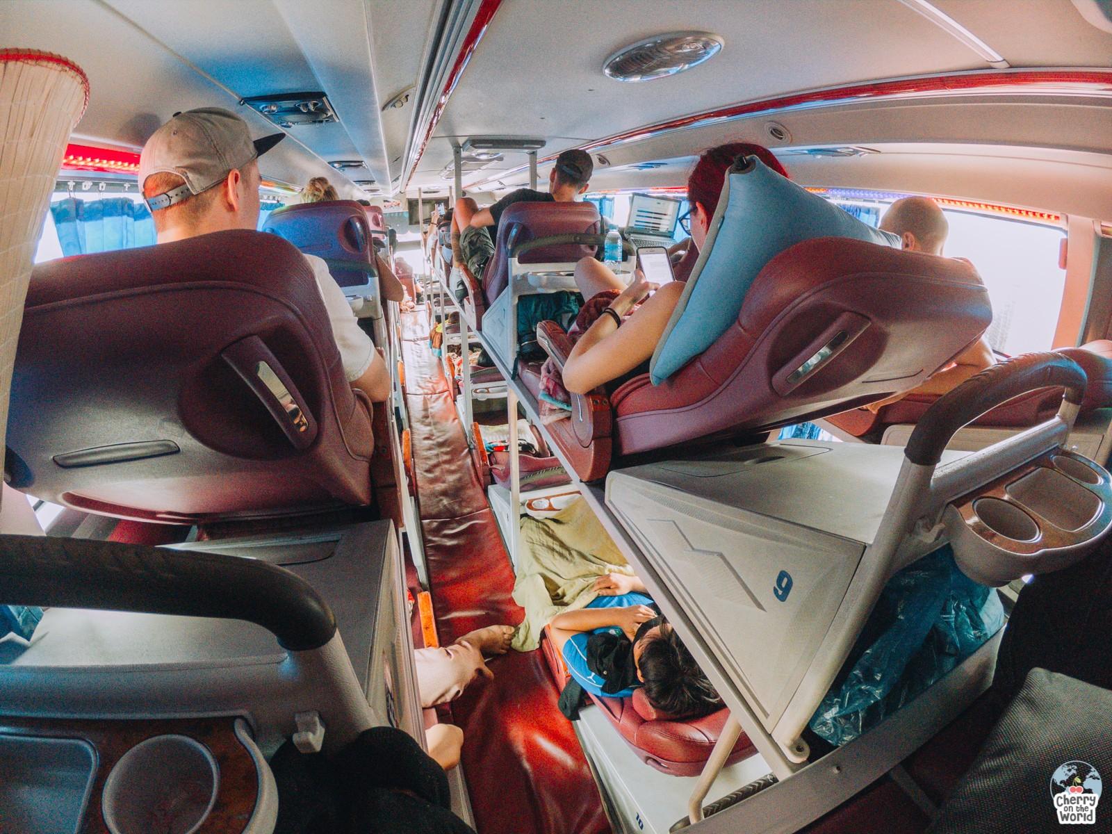 sleeping bus vietnam