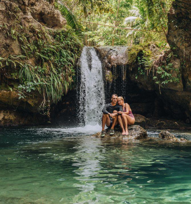 5 cascade uluitoare în Cebu - Filipine